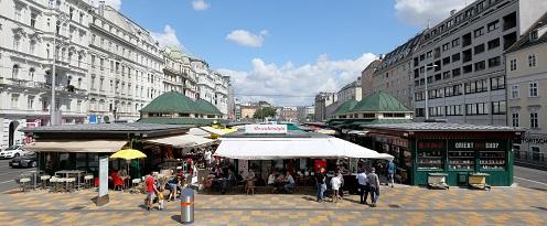 Anti Urin Lack Naschmarkt, Wien