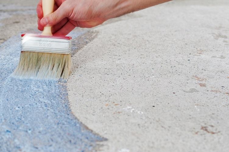Bodenbeschichtung auf Beton
